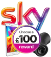 Sky: Choose a reward worth up to 250 pounds!