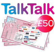 TalkTalk with £50 shopping voucher
